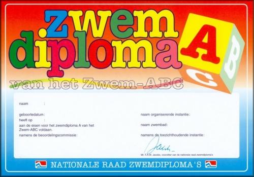 Diplomazwemmen Zwem ABC