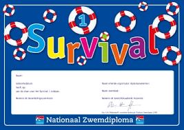 Diplomazwemmen Keuzepakket Survival